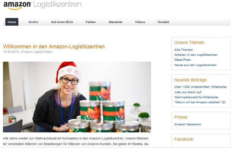 Blogkritik: Das Amazon-Logistikblog