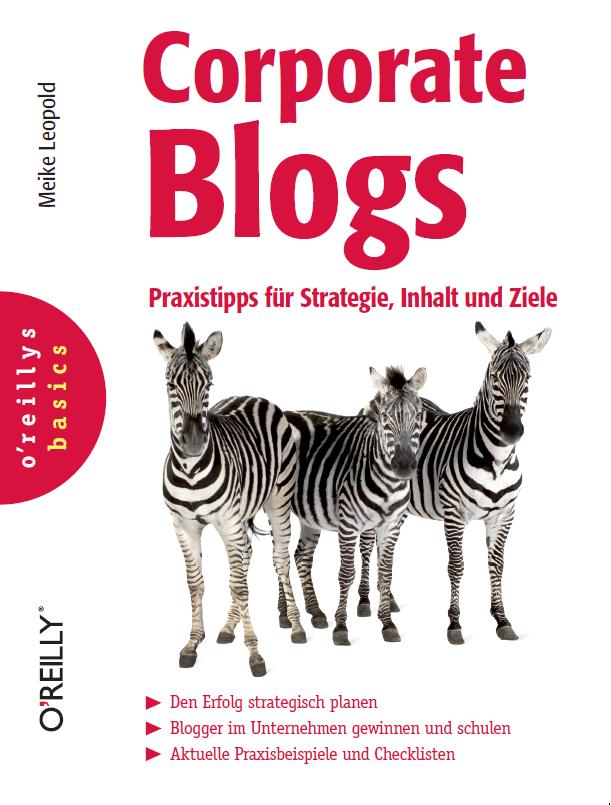 Frisch im Regal: Meine Praxistipps zu Corporate Blogs!