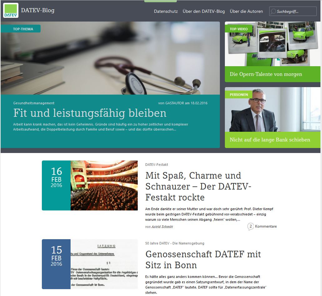 DER DATEV-Blog