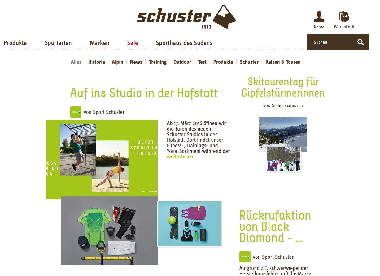 Schuster Blog