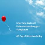 """""""Wir planen eine Plattform für alle Sage Blogs"""" #blogfuture"""
