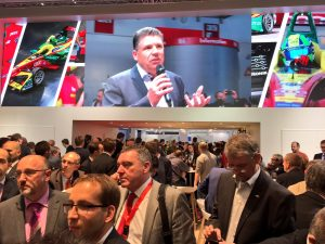 Live Video Wall Würth Elecronic eiSos Gruppe_electronica 2016