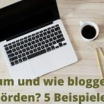 Blick hinter die Kulissen: Fünf Behörden Blogs Praxisbeispiele